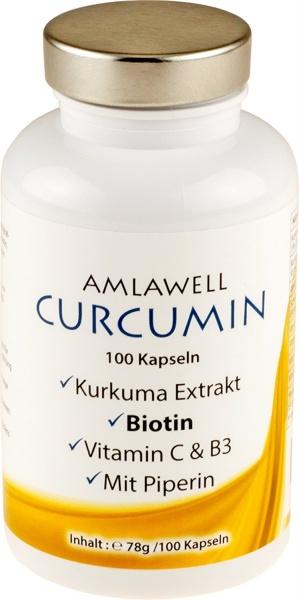 Curcumin, 78g / 100 Kapseln